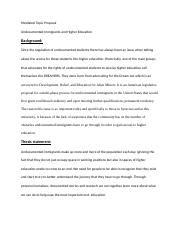 Mediated Topic Proposal