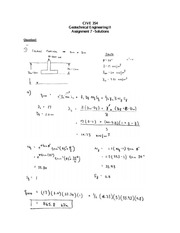 cive 354 assignment solutions 7
