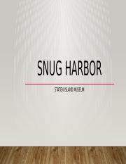 M2 Snug Harbor.pptx