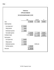 Worksheets - P6-1A