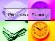 Chapter 7-Principles of Planning