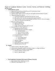 Cell Biology-Chapter 8 Notes.docx
