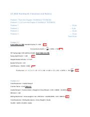 CE 2810 Homework 5 Solutions and Rubrics.pdf