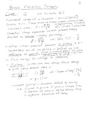 Basic Electrical Concepts notes