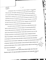 ENG 207 Titus Andronicus Essay Final Draft