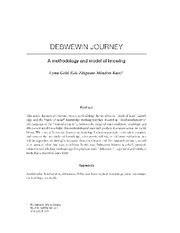 Debwewin journey A methodology and model of knowing (1)