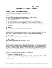 ECEGR 3111 Guidelines for Formal Lab Report F2016.doc