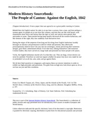 Canton against the English 1842--1 sheet