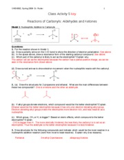CHEM302 S09 CA5 key