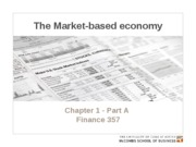 Chapter 1.  The market-based economy - Posted