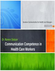 McKinley and Perino-2013-Communication competence in health care workers