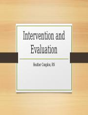 Congdon Intervention and Evaluation.pptx