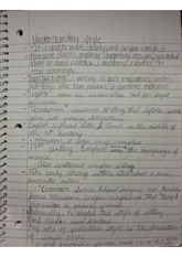 ENGL 3372 Complete Notes