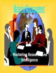 3. Marketing Research and Intelligence.ppt