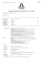 SB209D_Geodetic Reference Systems