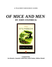 TE 408 Resource Packet- Of Mice and Men (1)