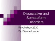 OutlineDissociativeSomatoform