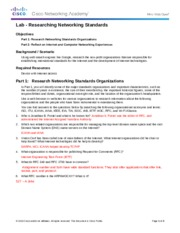 Trai Hunter 3.2.3.4 Lab - Researching Networking Standards (1).docx