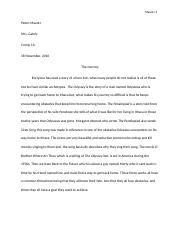 The Journey Paper