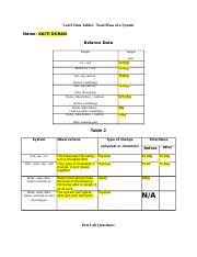Lab 9 Data Tables..Total Mass of a System (1)