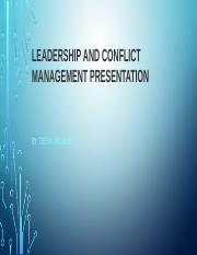 Leadership and Conflict Management Presentation.pptx