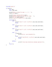 Illustrating the SWITCH statement 2