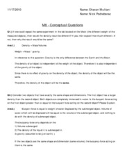 341 study buoyant force and archimedes essay