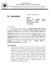 Contoh Memori Banding Kantor Advokat Fadilla Mariska Putri