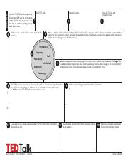 English Worksheet Ted Talk Handout About Food Jamie Oliver Teach Every Child