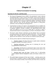 Government and Not-for-Profit Solution Manual Chapter 17