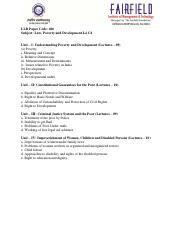 LLB 409 Environmental Law pdf - LLB Subject Environmental