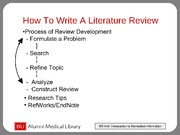 LitReview Presentation