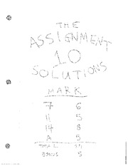 Assign10 Solns