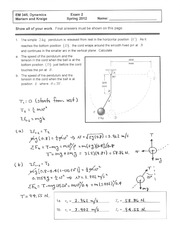 Exam 2 - Spring 2012 Solutions