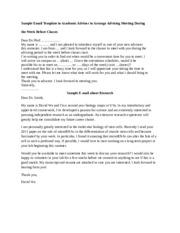 sample emails 1 sample email template to academic. Black Bedroom Furniture Sets. Home Design Ideas