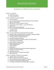 Guidelines for effective documentation Notes.pdf