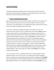 accounting study resources 8 pages law of contract essay