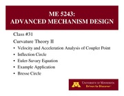 Lecture 31 on Advanced Mechanism Design