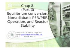 Chap 8-2 (r2) equilibrium conversion