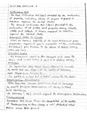 civil war notes 2