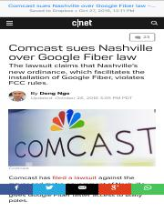 Comcast sues Nashville over Google Fiber law - CNET.pdf