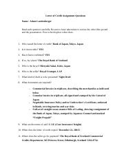 Adam Landenberger Chapter 14 Assignment.docx