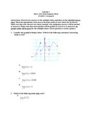 MAC 2311 Test 2 Fall 2014
