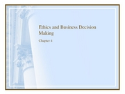 Chapter 4 Ethics posted0