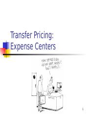 2 Transfer Pricing Expense Centre.ppt