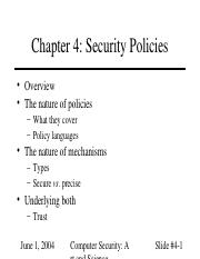 04 Security Policies