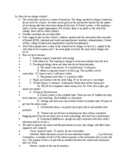 Education 441 Notes 13