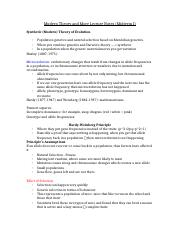 Modern Theory and More Lecture Notes
