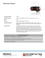 45504 Ultrasonic Sensor product sheet.pdf