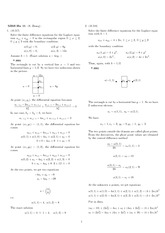 Homework 11 Solution Fall 2007 on Engineering Mathematics III (Numerical Methods)